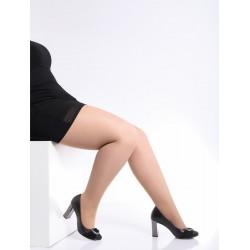 GIULIA Fine tights for shortened leg length with Elastane MOLLY 40 DEN