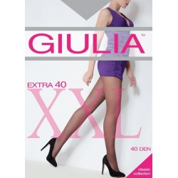 GIULIA Supportive tights with shorts with average allocated pressure for women EXTRA 40 DEN