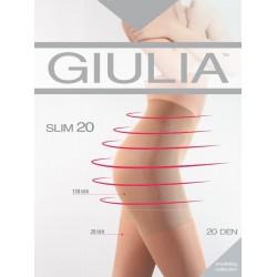 GIULIA Zeķubikses 20 DEN ar komfortablām pievelkošām biksītēm (150 DEN) sievietēm SLIM