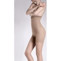 GIULIA Zeķbikses ar augstu jostas vietu ar modelējošām īsbiksēm  TALIA CONTROL 20 DEN 5XL