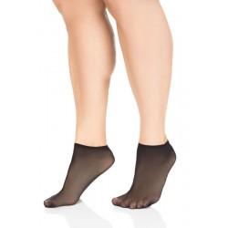 Elastīgas sieviešu īszeķes  LIDA 705 Size++ 20 DEN (2 pāri) (39-42.izmērs)