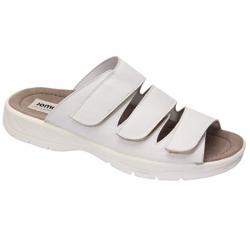 Men's white slide flip flops Jomos 503613