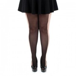 Large size tights Illusion, size EU 56-60