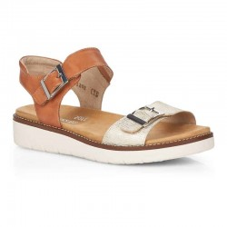 Brown sandals for women Remonte D2051-24