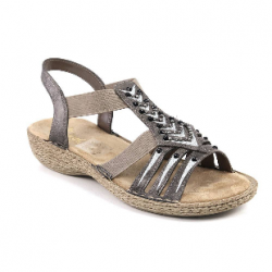 Womens sandals Rieker 65861-45