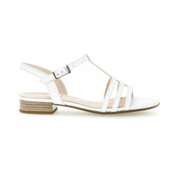 Hvit kvinners sandaler Gabor 42.813.50