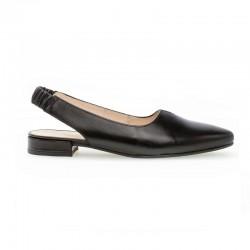 Черные туфли с открытой пяткой Gabor 42.240.57