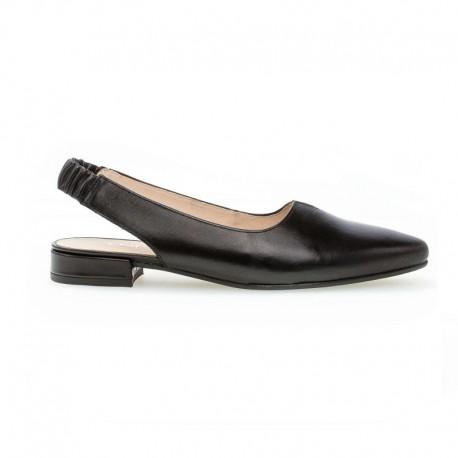 Melnas kurpes ar vaļēju aizmuguri Gabor 42.240.57