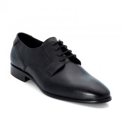 Wide black Derby shoes Lloyd Keep 10-354-10