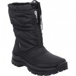 Zip Front Waterproof Black Winter Mid Boot Romika 87018 Alaska TopDryTex