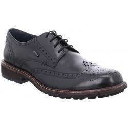 Klasiskas melnas vīriešu liela izmēra kurpes Josef Seibel 24753