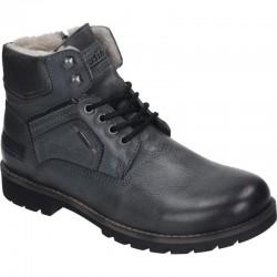 Men's winter lace up boots Manitu PolarTEX 670661 grau