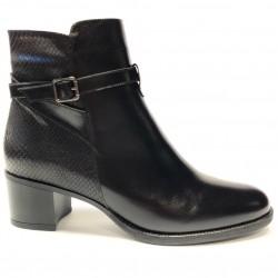 Women's autumn big size ankle boots PieSanto 205446 negro