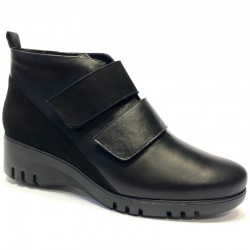 Big size winter low boots PieSanto 205902 natural negro