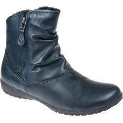 Women's autumn big size ankle boots Josef Seibel 79724 ocean