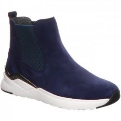Замшевые oсенние, демисезонные ботинки Gabor 53.780.16 темно-синий