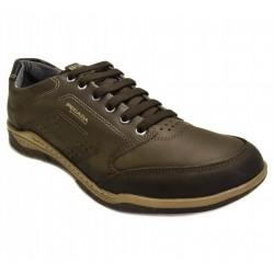 Мужские kожаные кроссовки Pegada 514272-04 Amortech