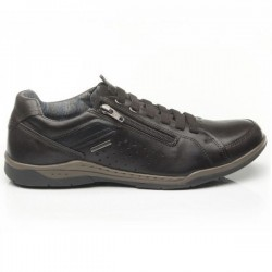 Leather sneakers for men Pegada 514271-01 Amortech