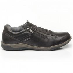 Мужские kожаные кроссовки Pegada 514271-01 Amortech