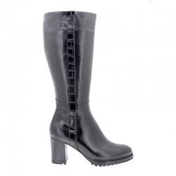 Store størrelser kvinners brede høstens støvler (L) PieSanto 205437 negro