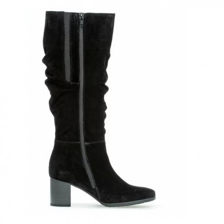 Women's autumn big size wide calf boots (L) Gabor 52.938.47