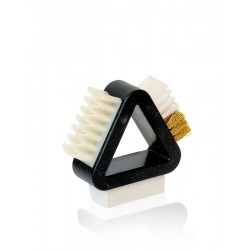 Nubuck brush with rubber crepe universal KAPS 3 in 1