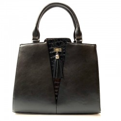 Women's handbag from leatherette Sominta 33x26x11 1633 2 colors