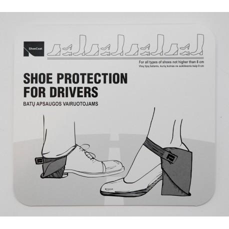 Papēžu aizsargs autobraucējām labajai kājai