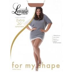 Levante big size tights 20 DEN Extra Super Maxi