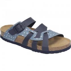 Womens Slide flip flops Brinkmann 701465