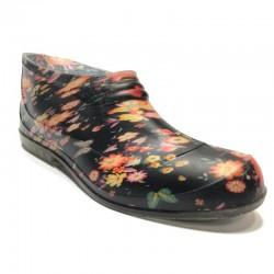 Īsās gumijas kurpes (galošas) 701SP-flower