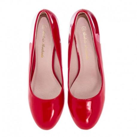 Sarkanas augstpapēžu kurpes Andres Machado AM422