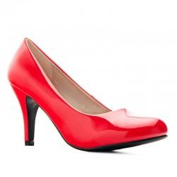 Røde høy hæl sko Andres Machado AM422