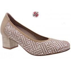 Wide fit women's shoes PieSanto 210462