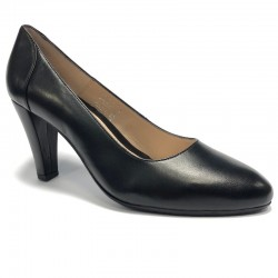 Women's big size court black shoes Bella b. 6569.026