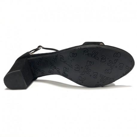 Augstpapēžu zamšādas sandales. Lieli izmēri. Bella b. 7006.032