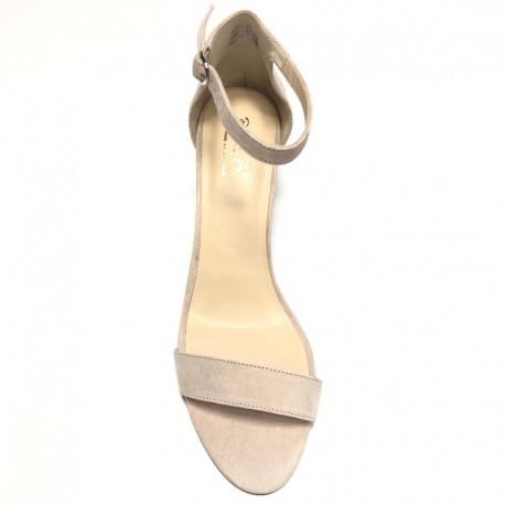 Augstpapēžu zamšādas sandales. Lieli izmēri. Bella b. 7006.033