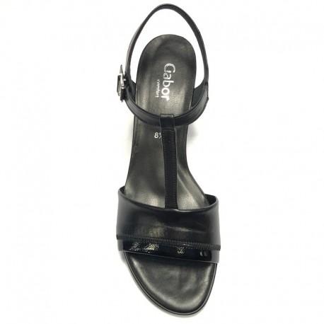 Melnas sandales Gabor 62.391.27