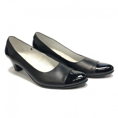 Womens shoes medium heel T-125