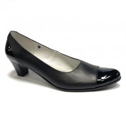 Kvinners sko, medium hæl T-125