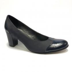 Kvinners sko, medium hæl T-910/1 WITH DEFECT