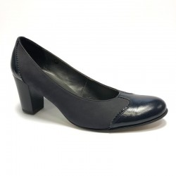 Womens shoes medium heel T-910/1 WITH DEFECT