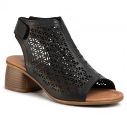 Sieviešu sandales uz vidēja papēža Remonte R8771-01