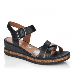 Sandaler med kilehæl Remonte D3057-01
