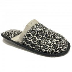 Men's large size slippers made in Latvia