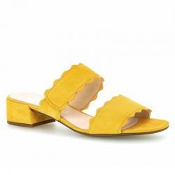 Slide flip flops medium heel Gabor 61.703.13