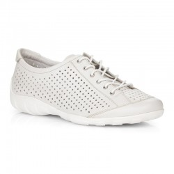 White leather sneakers for women Remonte R3401-80