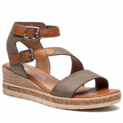 Sandaler med kilehæl Remonte D3052-54