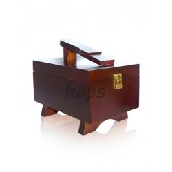 Medinė dėžutė batų priedams KAPS