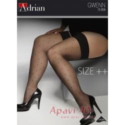 Gwenn liela izmēra zeķes 15 DEN